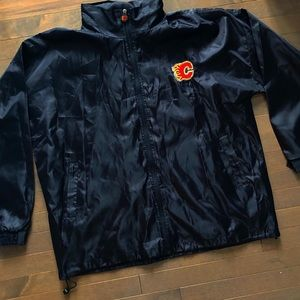 Calgary Flames Coach Jacket Perfect condition